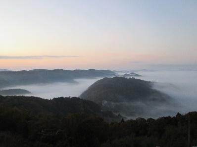 雲海(松原霧の海展望台)