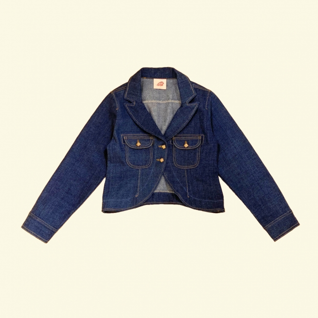 tulip denim jacket 12,000円