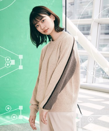 01 Hide and Knit(Size:S, L) 12,000円(税抜)