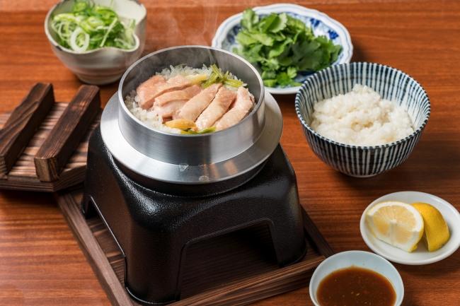 和風炊込みカオマンガイ (¥1,200)