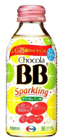 チョコラBBスパークリングキウイ&レモン140ml