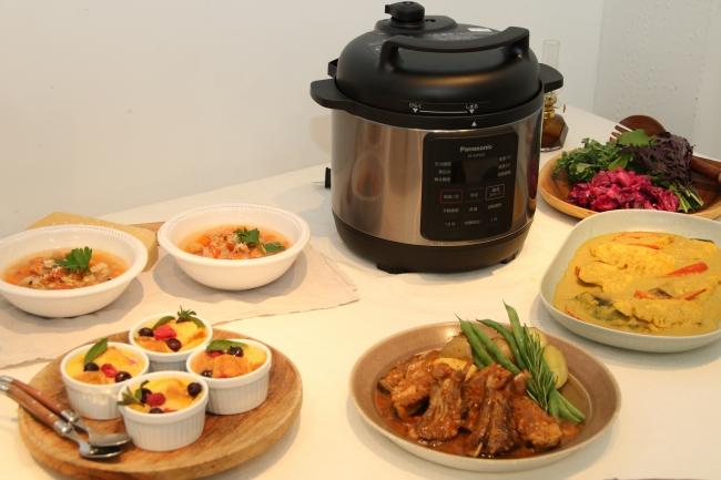 パナソニック電気圧力なべは時短で本格料理が作れる!圧力調理