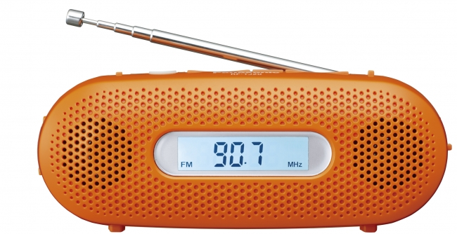 手回し充電ラジオ RF-TJ20