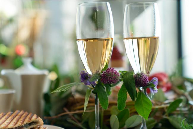 グラススパークリングワインプレゼント