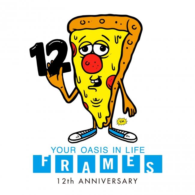 中目黒 frames の12th anniversaryのお得なキャンペーン 株式会社