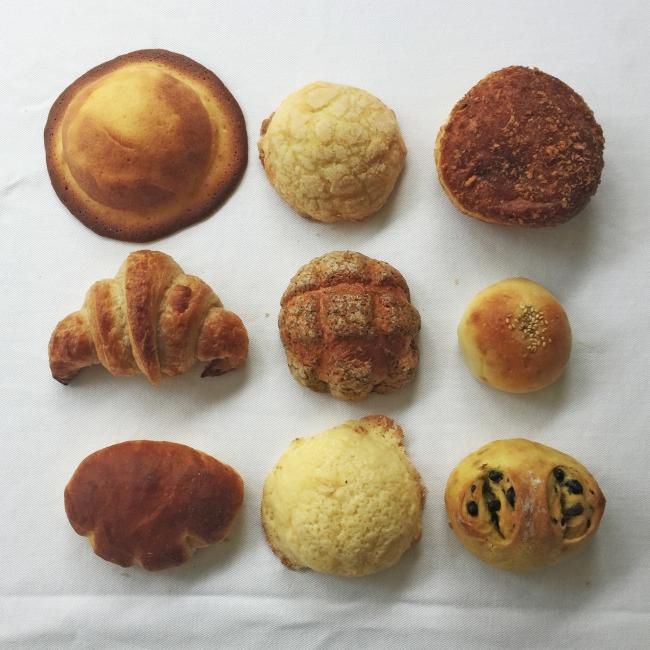 セレクトベーカリーからの「日本のパン」