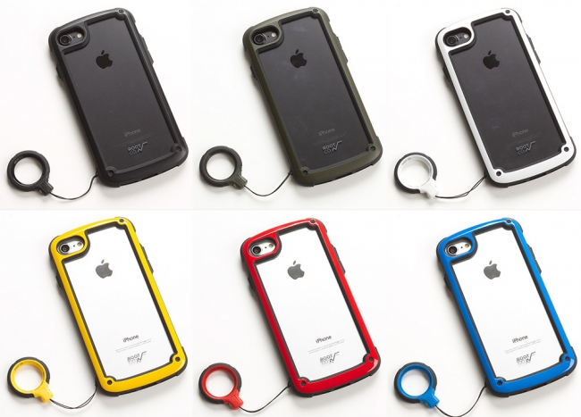 ROOT CO. GRAVITY RING STRAP.&TOUGH&BASIC iPhoneケース