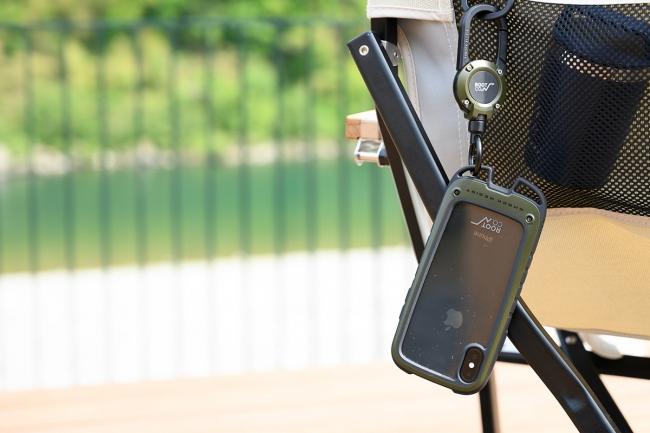 GRAVITY Shock Resist Case +Hold. ※こちらのイメージ画像はiPhoneXS用となります