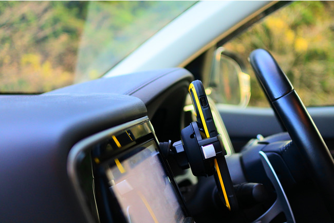GRIP. Smart Car Mount.使用イメージ