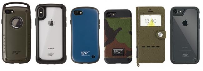 ROOT CO.各種iPhoneケースとの互換性