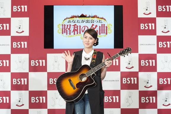 2月28日BS11 4月改編説明会記者会見 おかゆさん