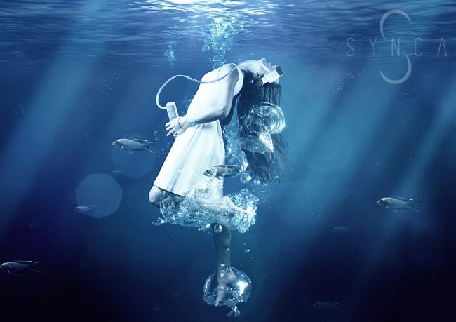 水の流れが生み出す、未体験の目元ケア。SYNCA(シンカ)Sウォーターアイマスク