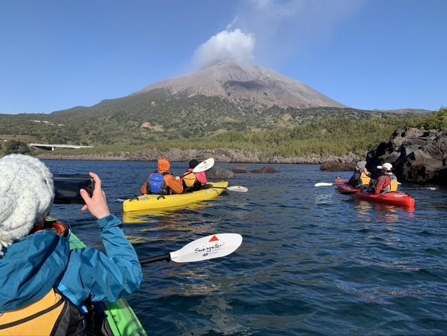 鹿児島では桜島の火山の息吹を感じられる