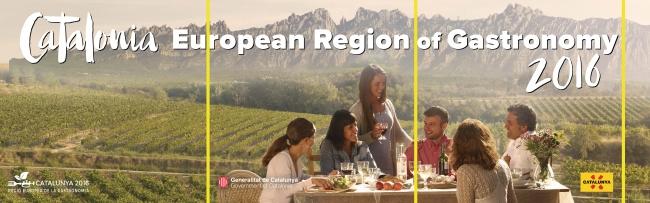 カタルーニャは2016年に「European Region of Gastronomy」アワードを受賞しました