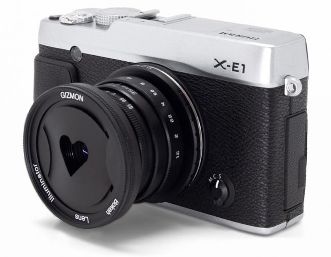 各種APSミラーレスカメラで使用することができます