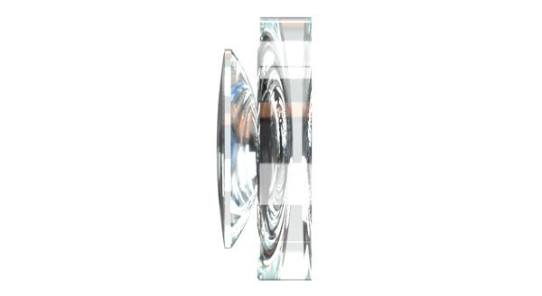 2群3枚構成の光学ガラスレンズで高解像度の映像が撮れます。