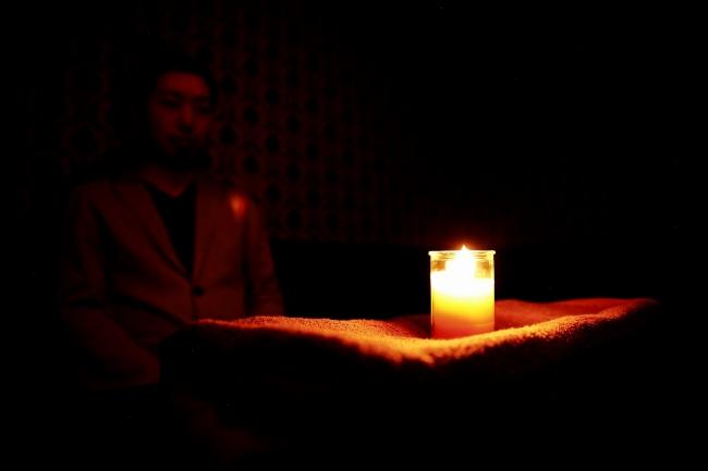 キャンドル瞑想など