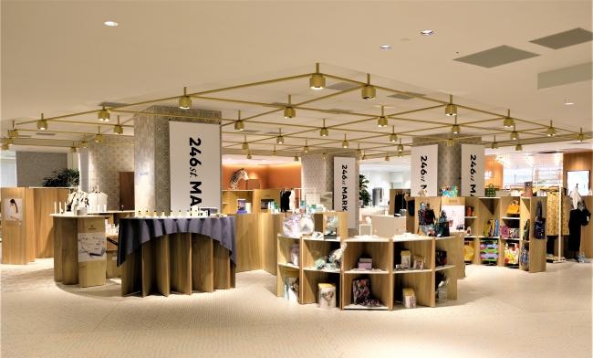 初の出店となったニュウマン横浜での「246st.MARKET」