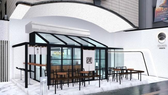 開放的な空間で、お客様に美味しさと寛ぎを。「椿サロン博多」