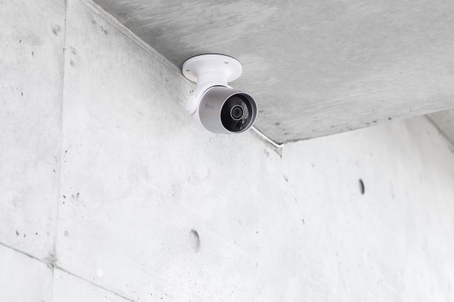 スマートセキュリティカメラ使用例