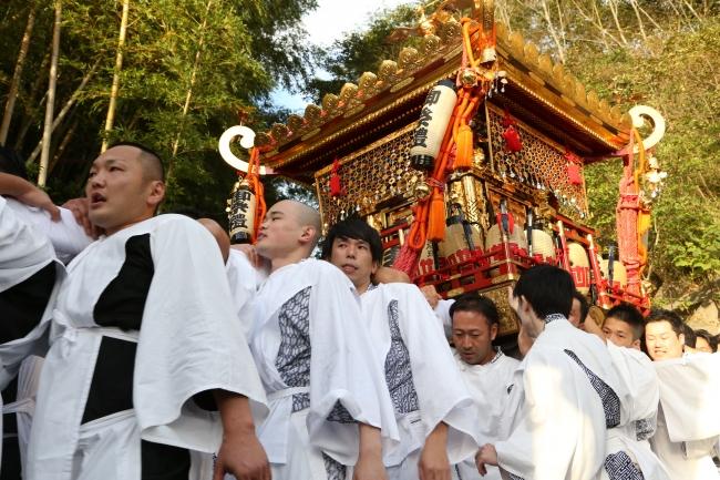 佐倉の秋祭りはダイナミック!