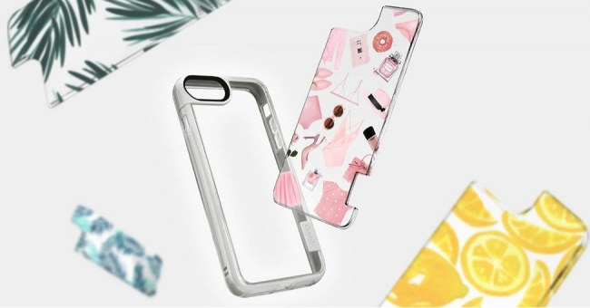 【Casetify (ケースティファイ)】着せ替え可能な iPhone7 ケース 新発売