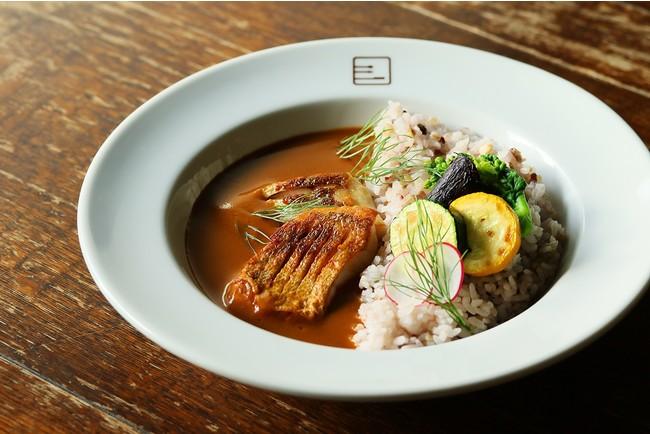 旬のお魚カレー 1,400円(税込)