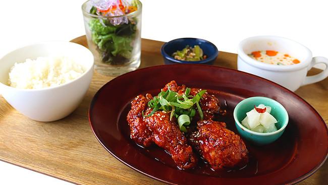 ラフレアの鶏唐揚げ ヤンニョムチキン or おろしポン酢 1000円