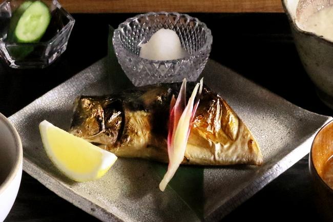 【黒十 横浜御膳】鯖干しの炙り焼き