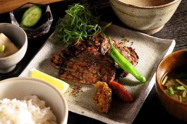 【黒十 横浜御膳】牛たんの炙り焼き