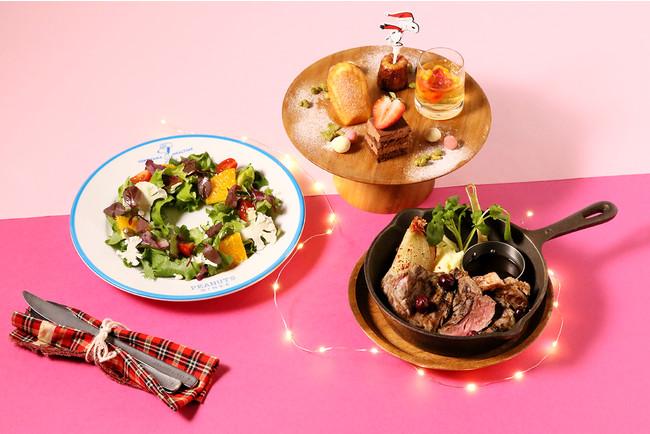 PEANUTS DINER 横浜 ※店舗により食器が異なります