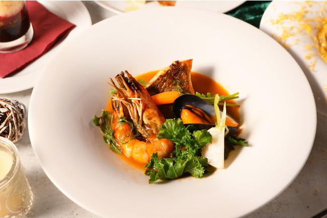 魚介と季節野菜のブイヤベース