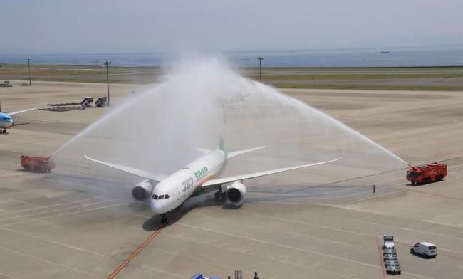 6月6日よりエバー航空がセントレア=台北線に新規就航