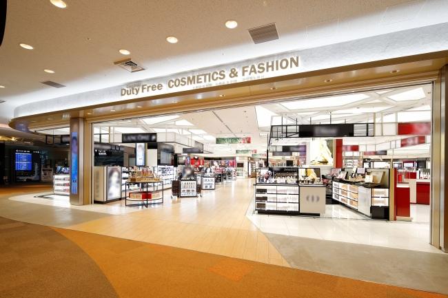 売上が堅調に推移している中部国際空港内の免税店