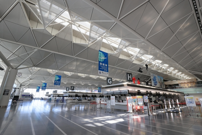 4月の運用実績を発表した中部国際空港