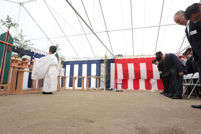 5月16日に安全祈願式を開催