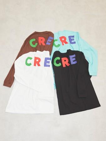 CREOLME by ROSE BUD 限定 ロングTシャツ ¥6,600(税込み)