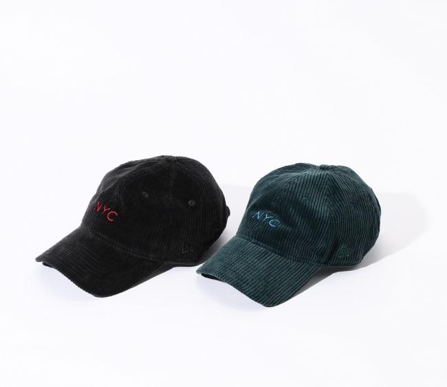 NEW ERA × ROSE BUD NYC Logo Corduroy Cap ¥3,800