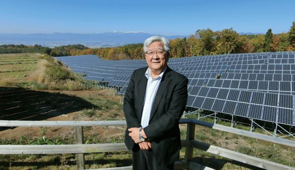 会津電力代表取締役 佐藤彌右衛門さん