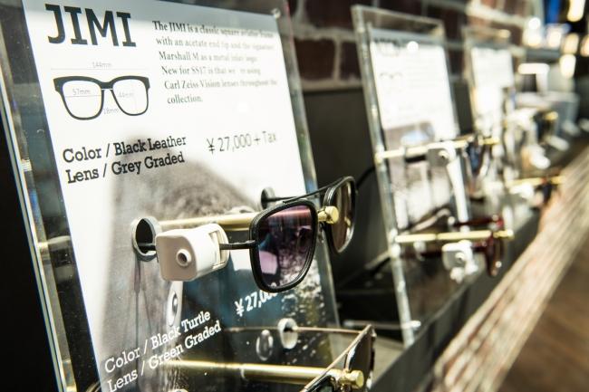 サングラス ¥27,000(Marshall Eyewear)