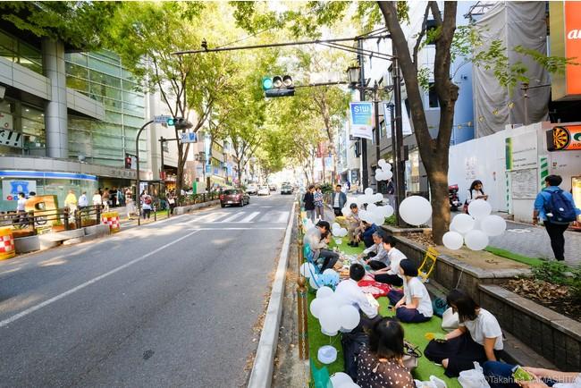 Park(ing)Day2019 渋谷宮益坂