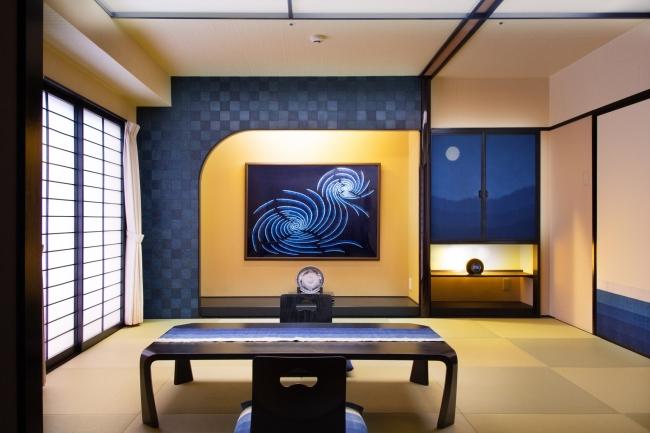 【502号室/矢野藍秀】テーマ『鳴門の渦潮・波・青海波』