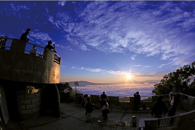 津別峠から望む雲海(イメージ)