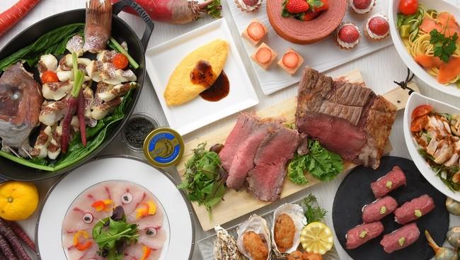 特別食べ放題ディナー(イメージ)