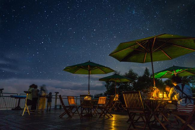 Naeba天空テラスから見ることのできる星空