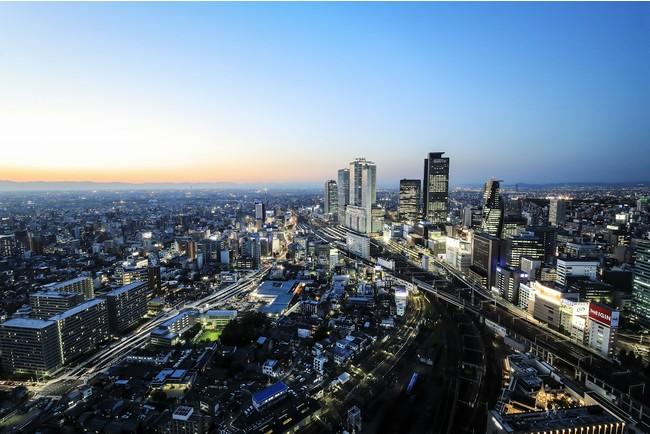 名古屋駅方面の眺望