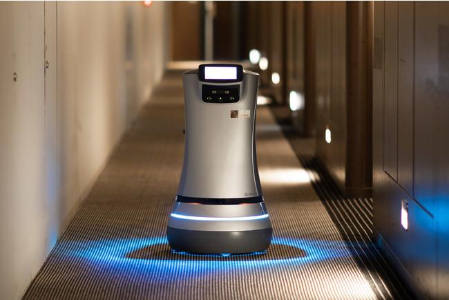 品川プリンスホテル ロボットデリバリー