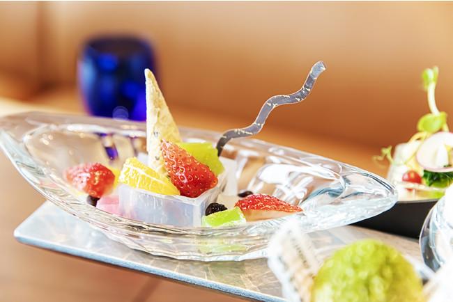 Japanese Afternoon Tea~百花~あんみつ イメージ(ザ・プリンスギャラリー 東京紀尾井町)