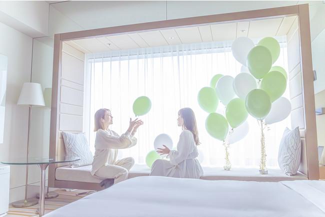DremyStaycation~green & relax~ バルーン イメージ ザ・プリンスギャラリー 東京紀尾井町