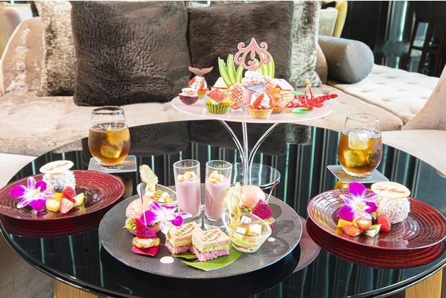 Pink Palace Afternoon Tea Inspired by The Royal Hawaiian Resort イメージ(ザ・プリンスギャラリー 東京紀尾井町)